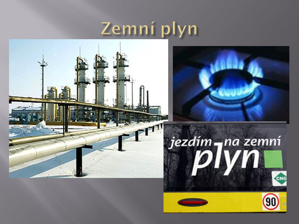 Zemní plyn
