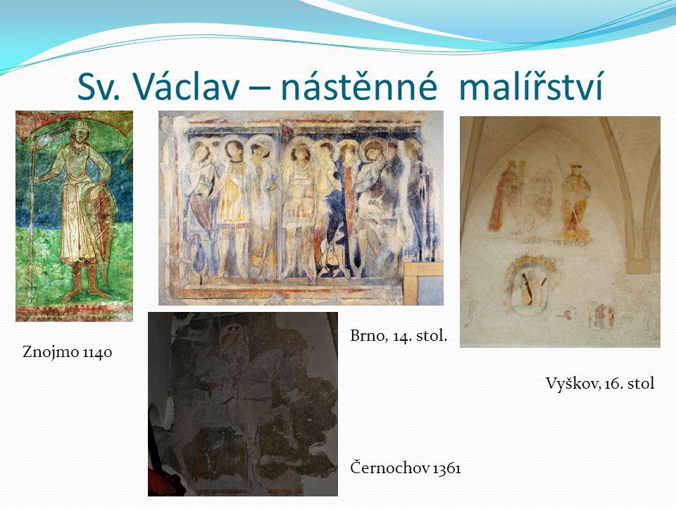 Sv. Václav – nástěnné malířství