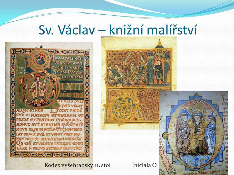 Sv. Václav – knižní malířství