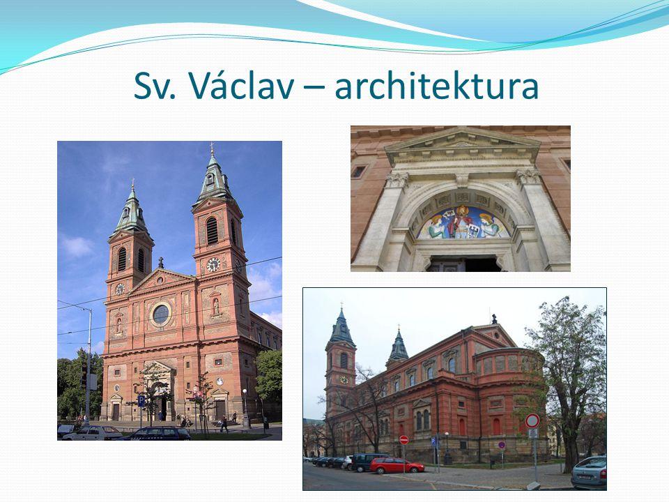 Sv. Václav – architektura