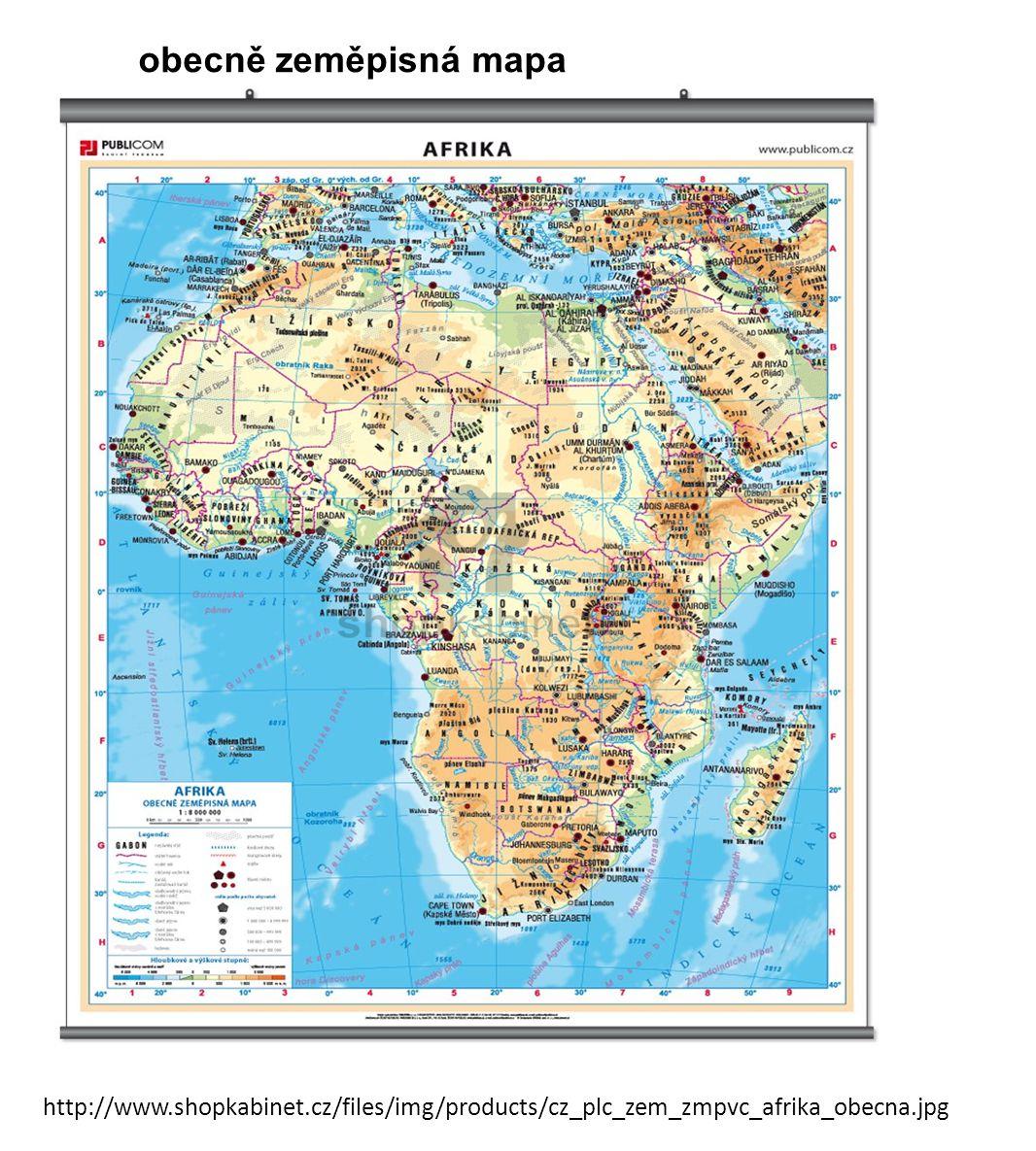obecně zeměpisná mapa http://www.shopkabinet.cz/files/img/products/cz_plc_zem_zmpvc_afrika_obecna.jpg.
