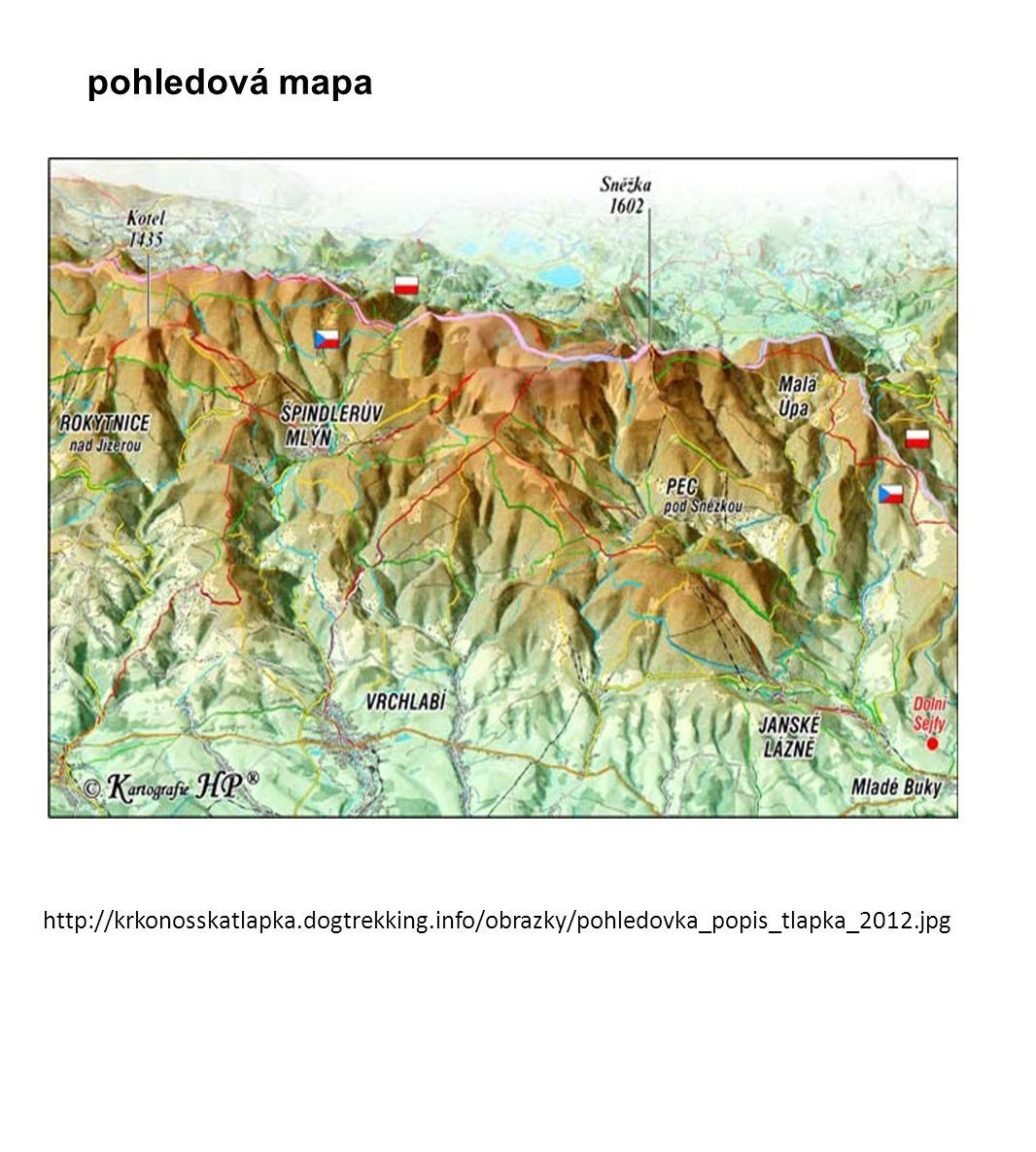 pohledová mapa http://krkonosskatlapka.dogtrekking.info/obrazky/pohledovka_popis_tlapka_2012.jpg