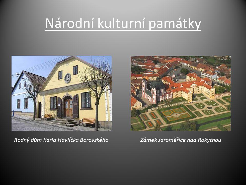 Národní kulturní památky