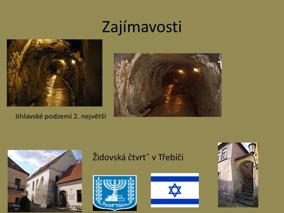 Zajímavosti Židovská čtvrtˇ v Třebíči