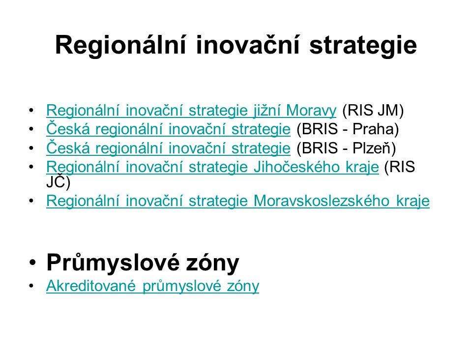 Regionální inovační strategie