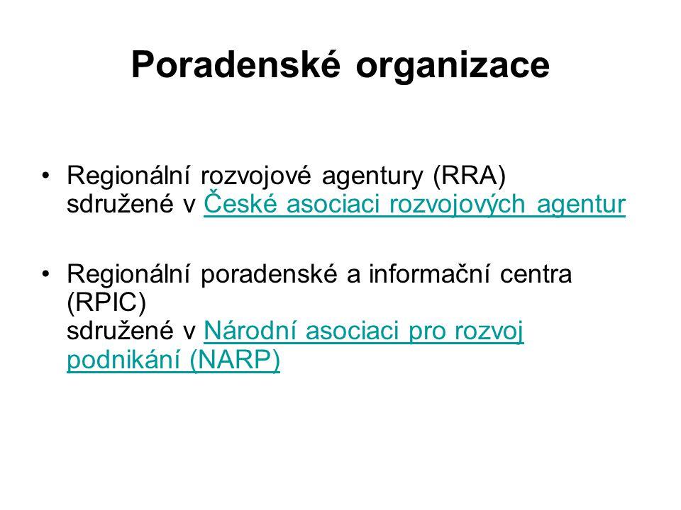Poradenské organizace