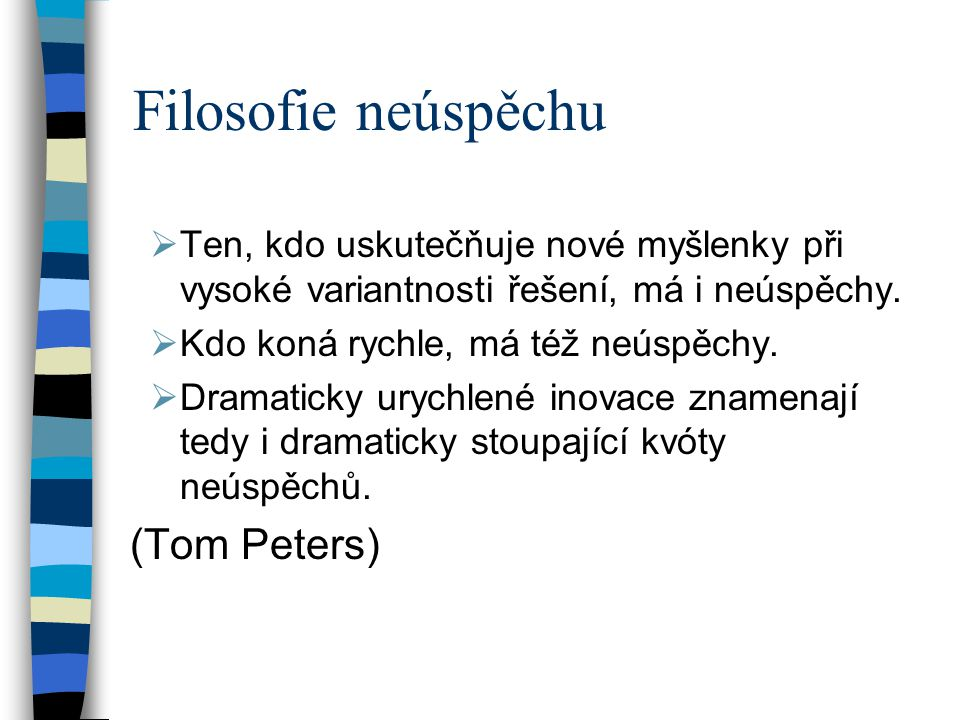 Filosofie neúspěchu (Tom Peters)