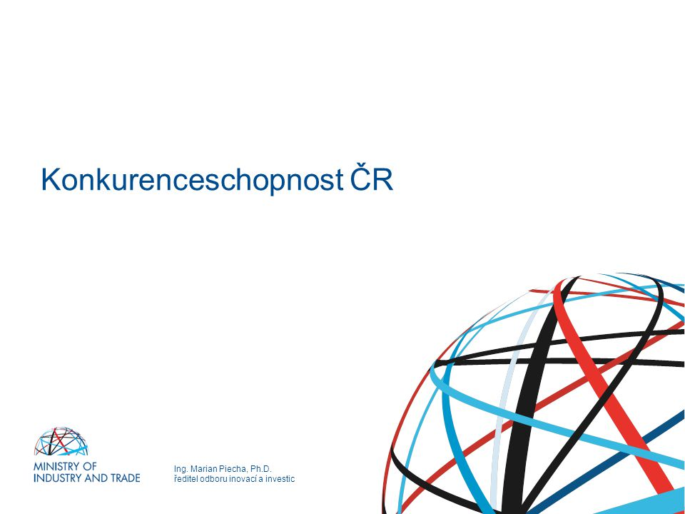 Konkurenceschopnost ČR