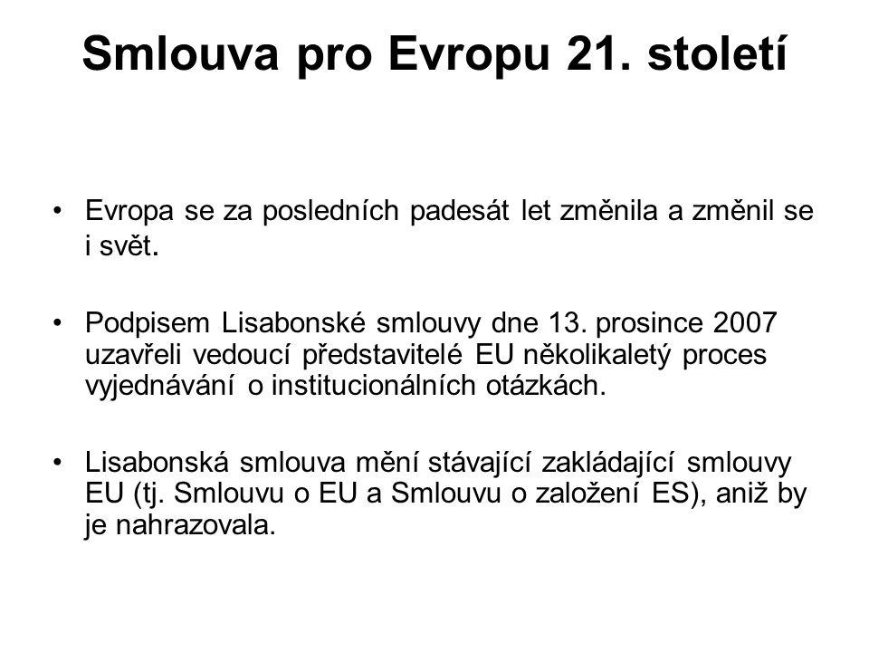 Smlouva pro Evropu 21. století