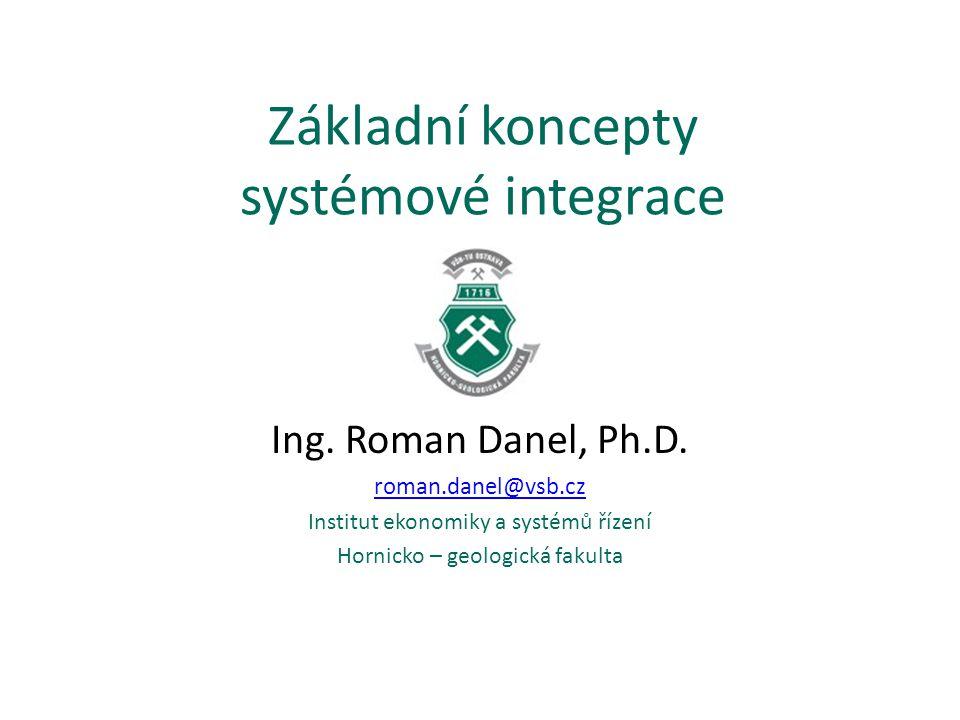 Základní koncepty systémové integrace