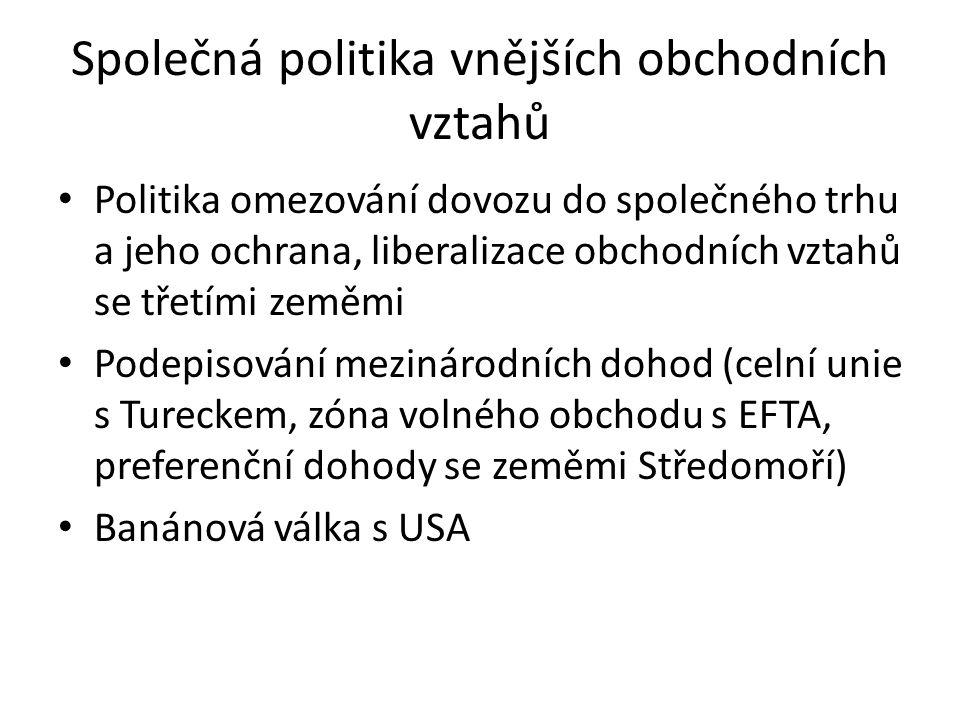 Společná politika vnějších obchodních vztahů