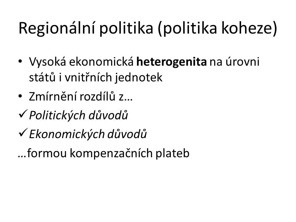 Regionální politika (politika koheze)