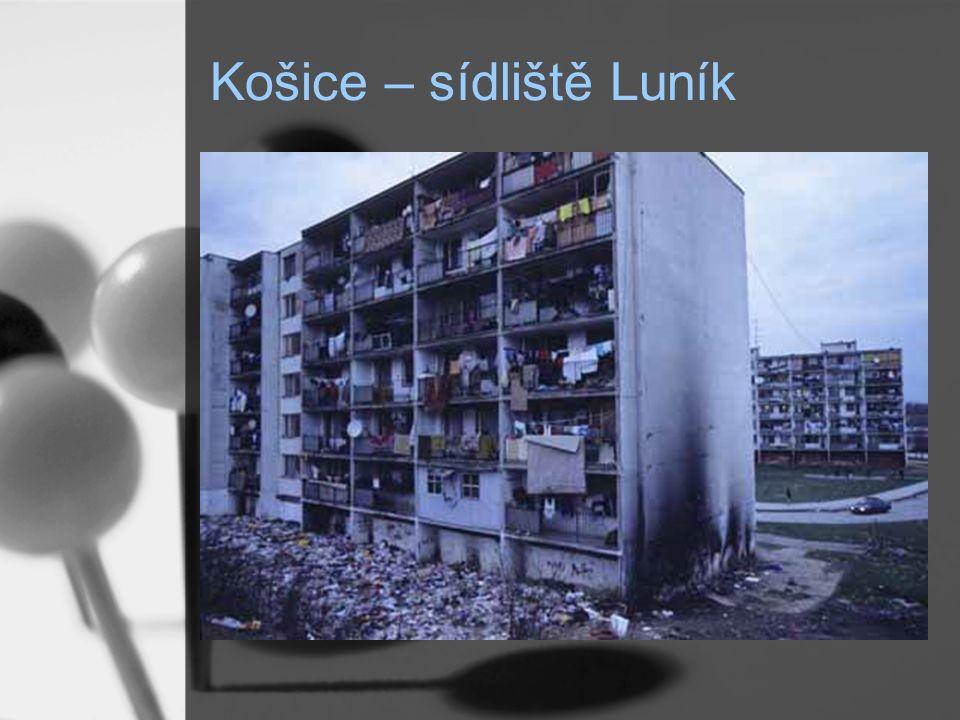 Košice – sídliště Luník