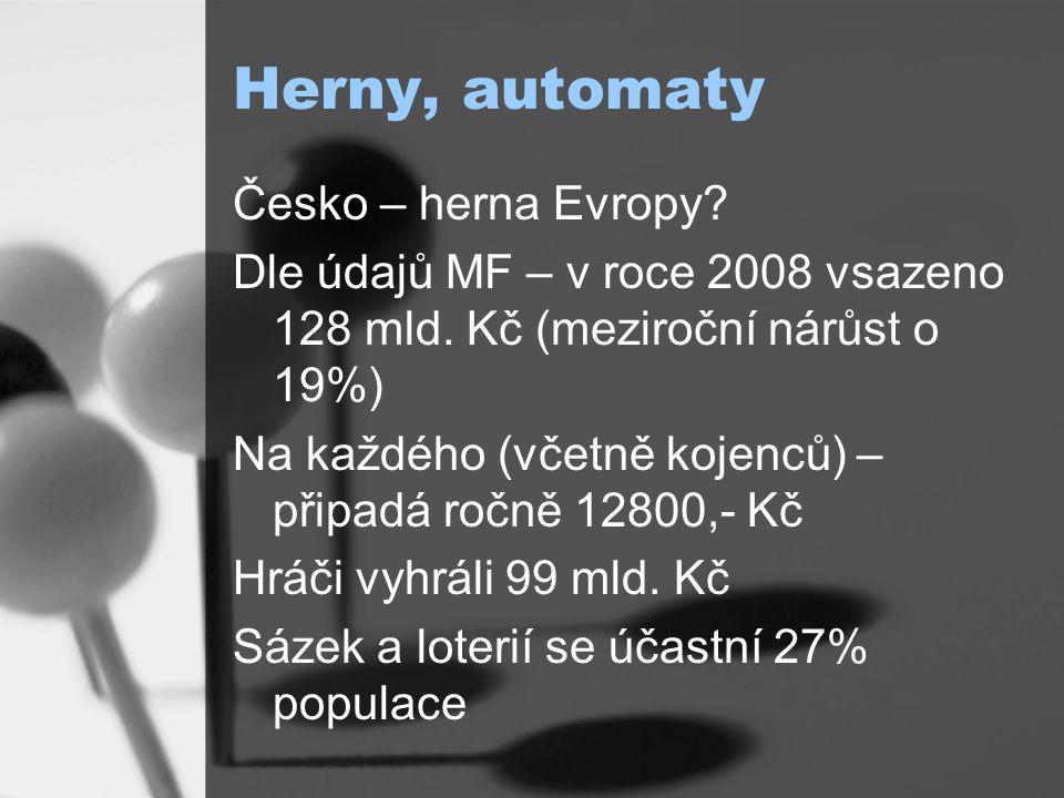 Herny, automaty