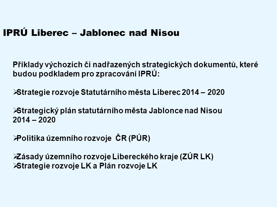 IPRÚ Liberec – Jablonec nad Nisou