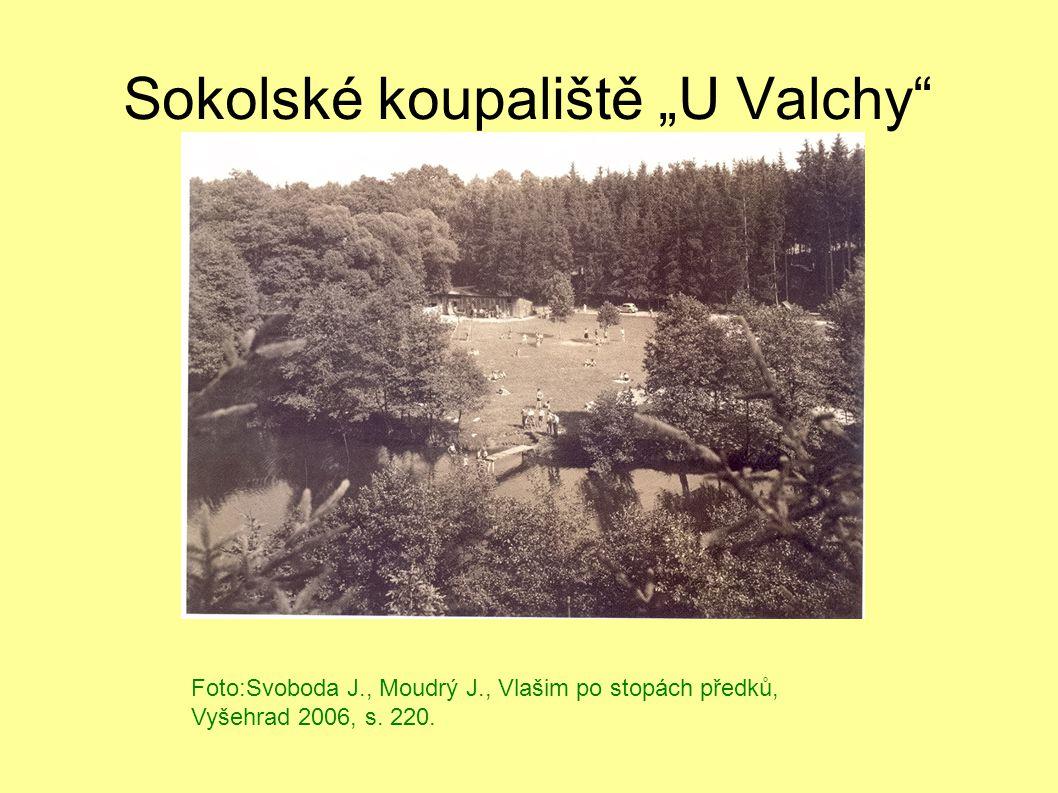 """Sokolské koupaliště """"U Valchy"""