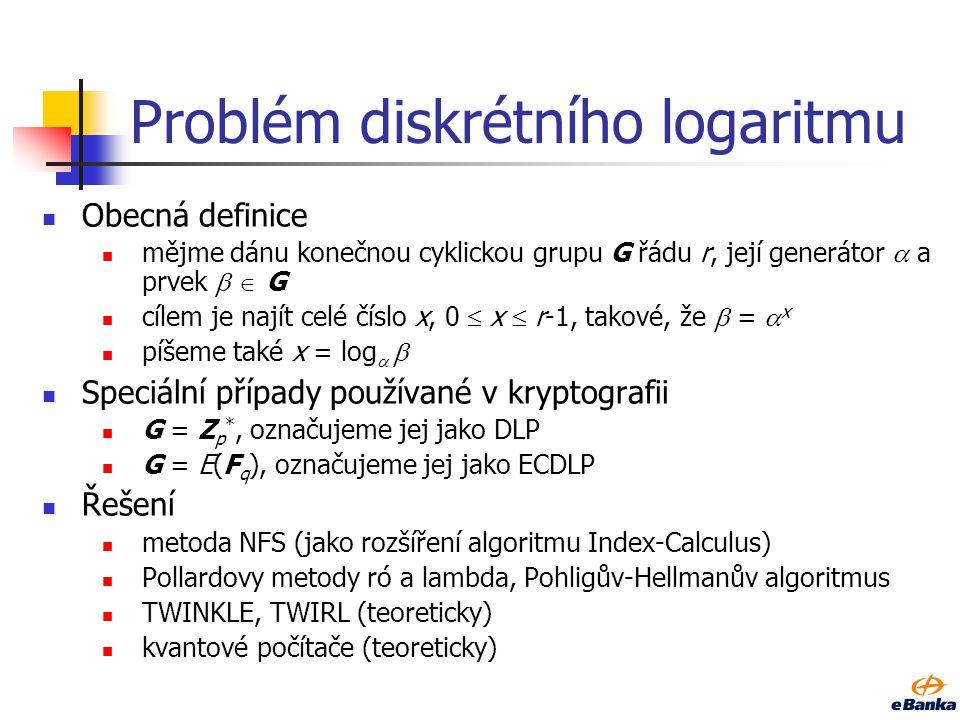 Problém diskrétního logaritmu