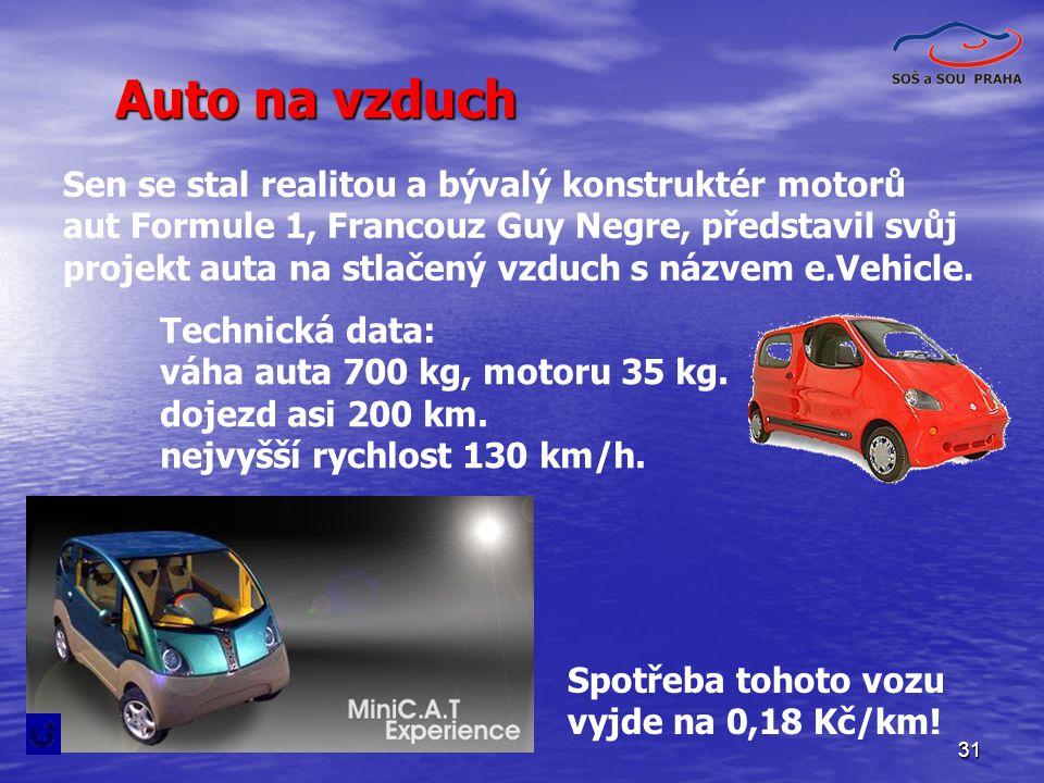Auto na vzduch Sen se stal realitou a bývalý konstruktér motorů