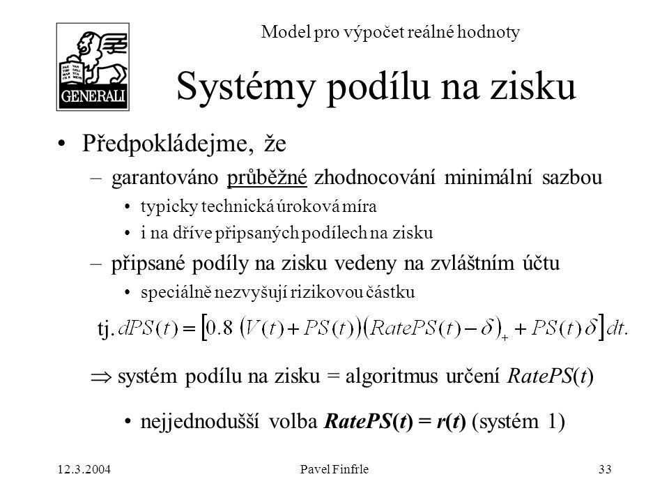 Systémy podílu na zisku
