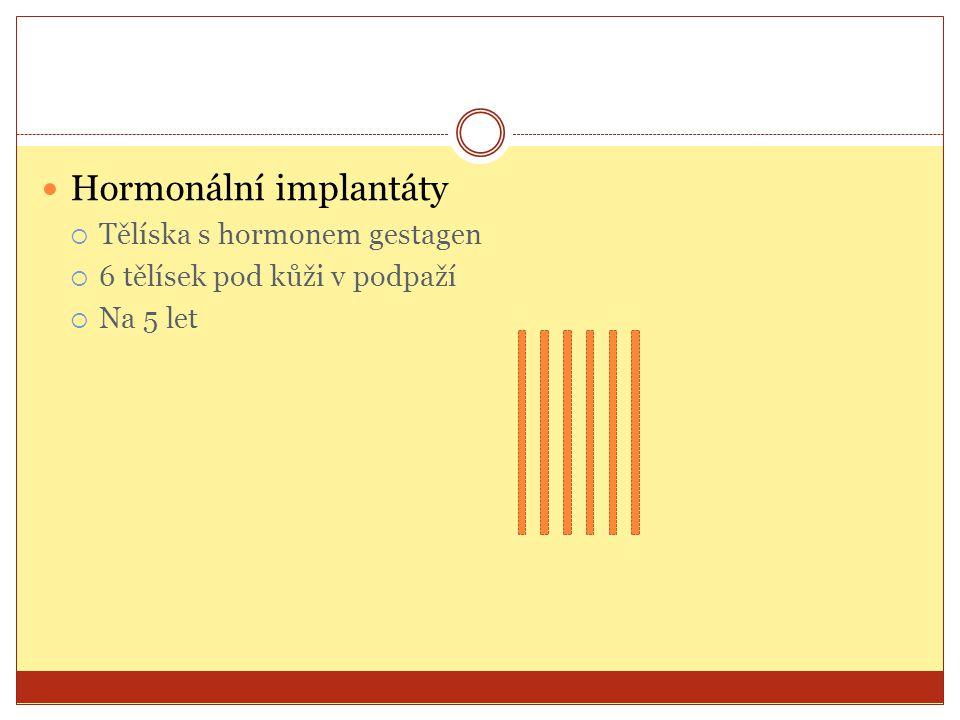 Hormonální implantáty