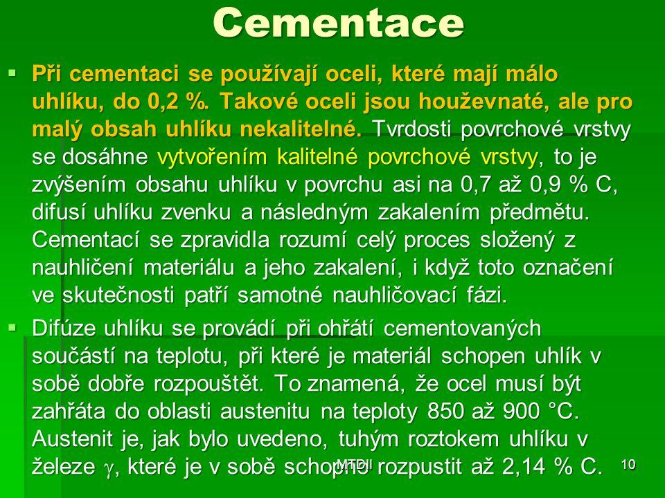 Cementace