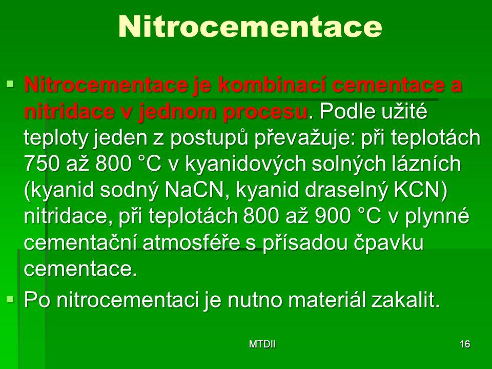 Nitrocementace