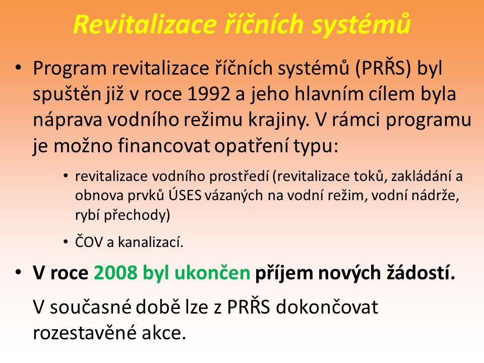 Revitalizace říčních systémů