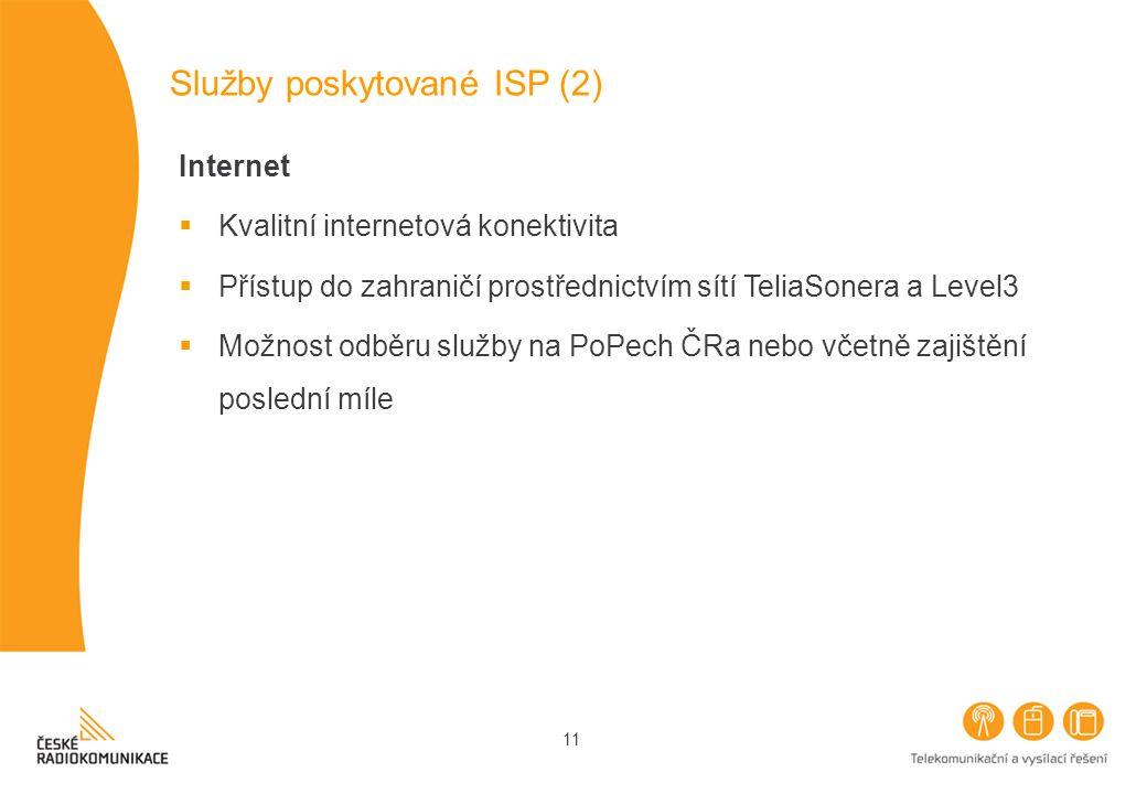 Služby poskytované ISP (2)