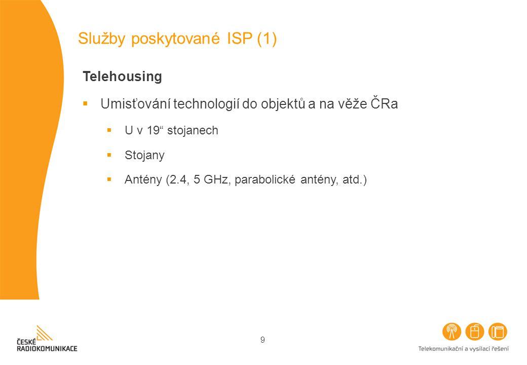 Služby poskytované ISP (1)