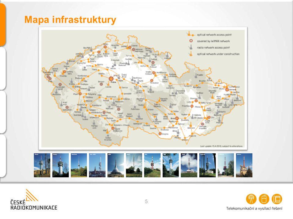 Mapa infrastruktury