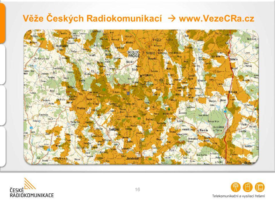 Věže Českých Radiokomunikací  www.VezeCRa.cz