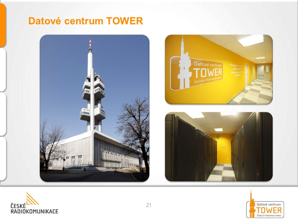 Datové centrum TOWER