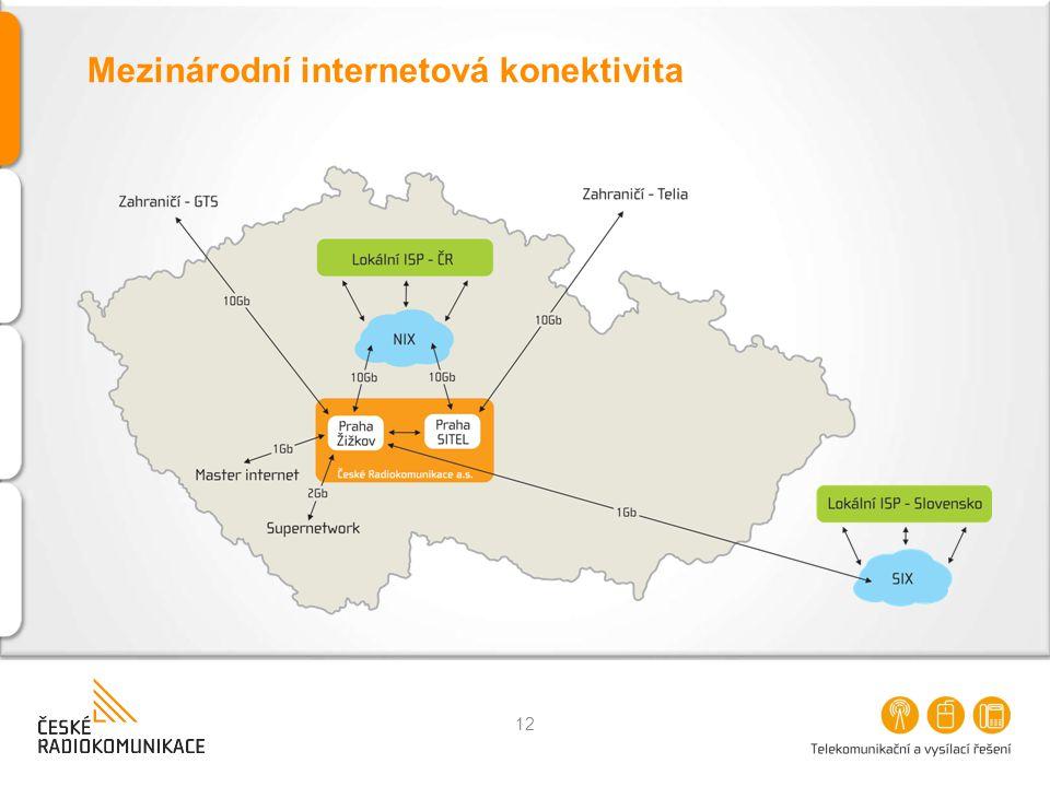Mezinárodní internetová konektivita
