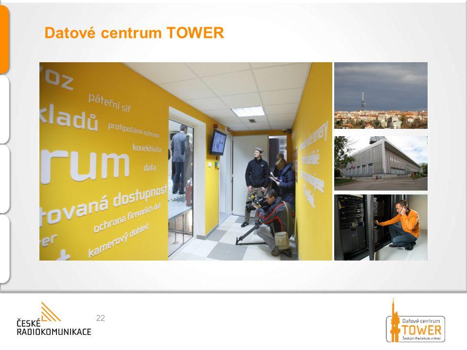 Datové centrum TOWER
