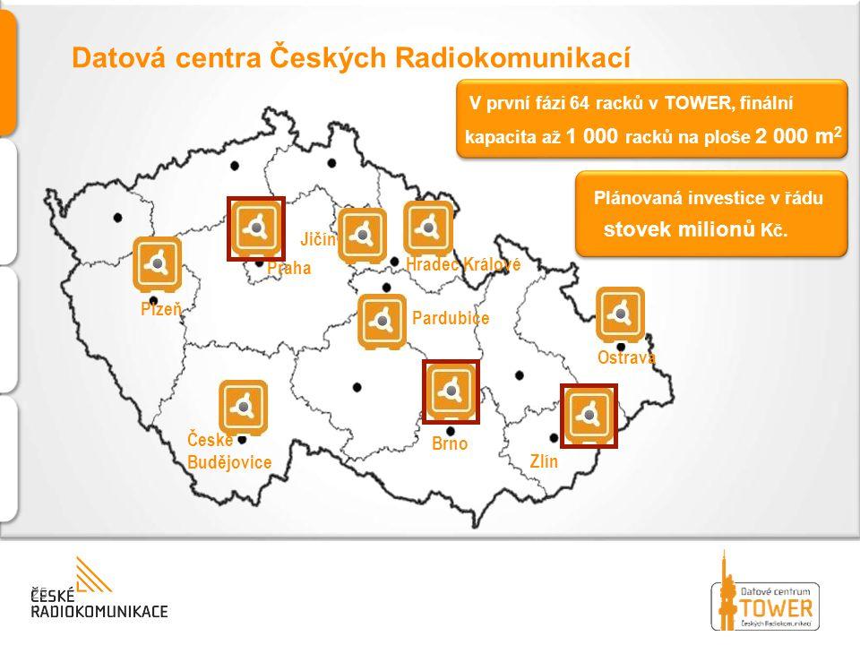 Datová centra Českých Radiokomunikací