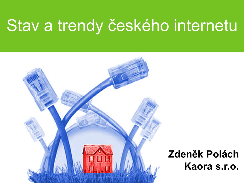 Stav a trendy českého internetu