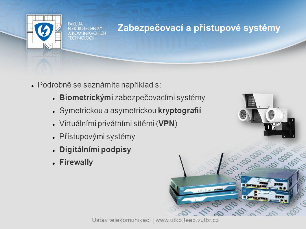 Zabezpečovací a přístupové systémy