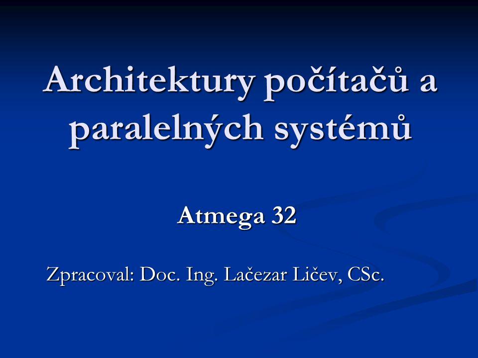Architektury počítačů a paralelných systémů