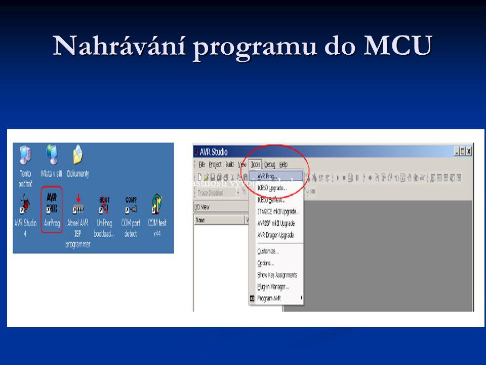 Nahrávání programu do MCU