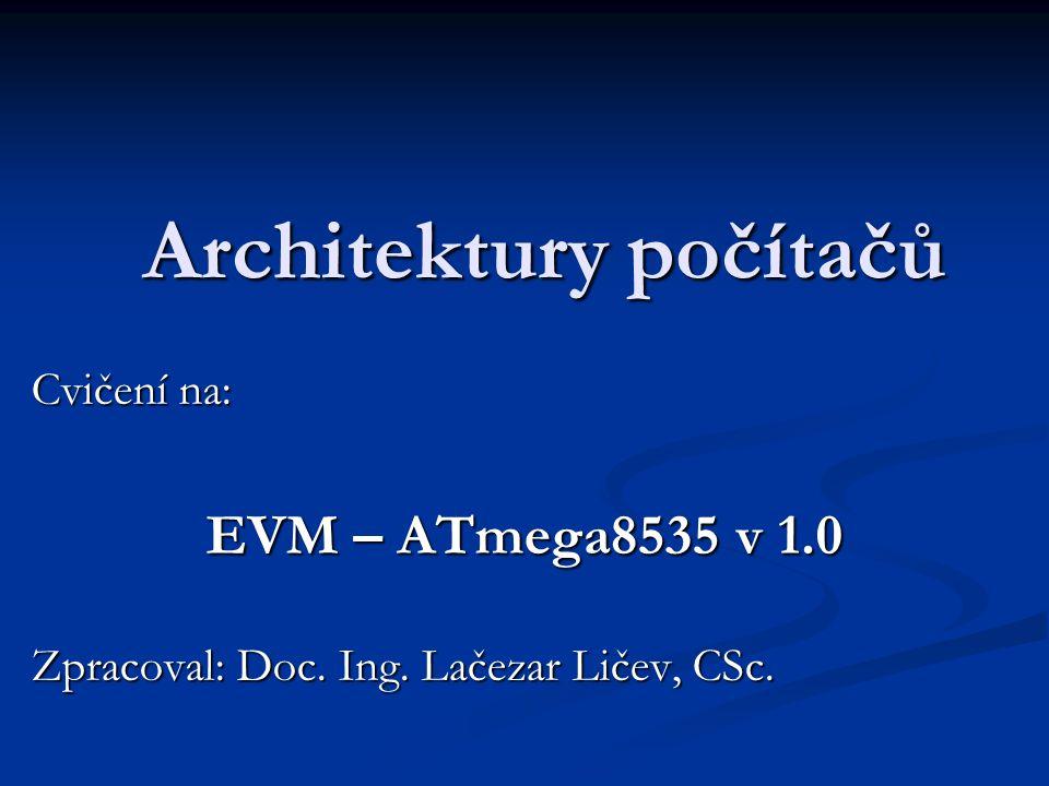 Architektury počítačů