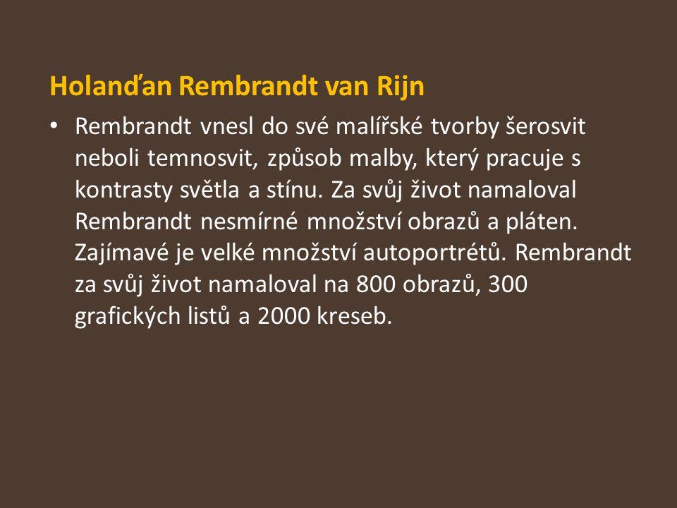 Holanďan Rembrandt van Rijn