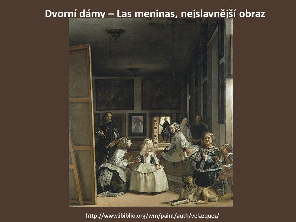 Dvorní dámy – Las meninas, nejslavnější obraz