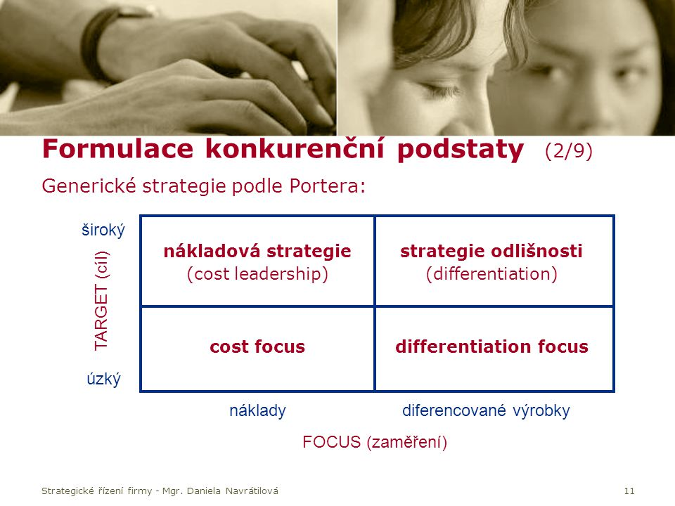 differentiation focus
