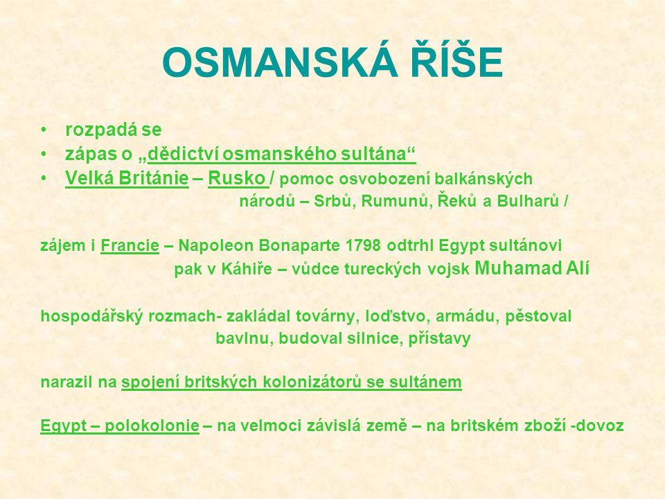 """OSMANSKÁ ŘÍŠE rozpadá se zápas o """"dědictví osmanského sultána"""