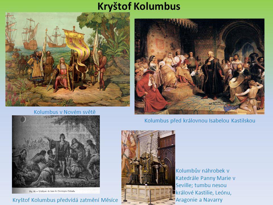 Kolumbus před královnou Isabelou Kastilskou