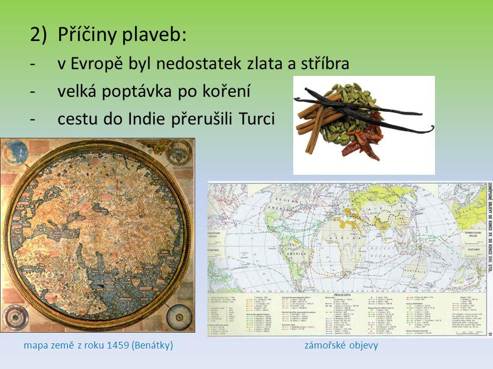 mapa země z roku 1459 (Benátky)