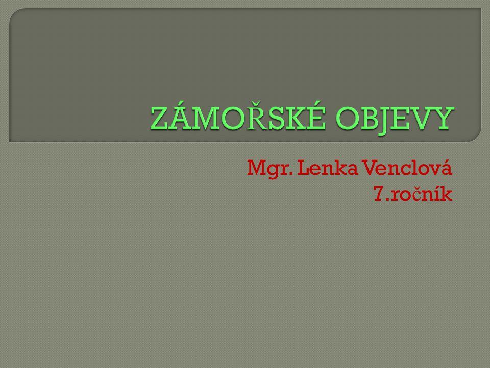 Mgr. Lenka Venclová 7.ročník