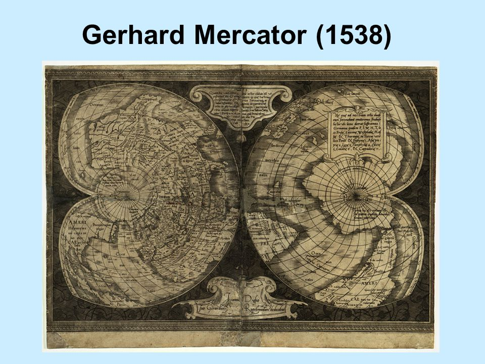 Gerhard Mercator (1538)
