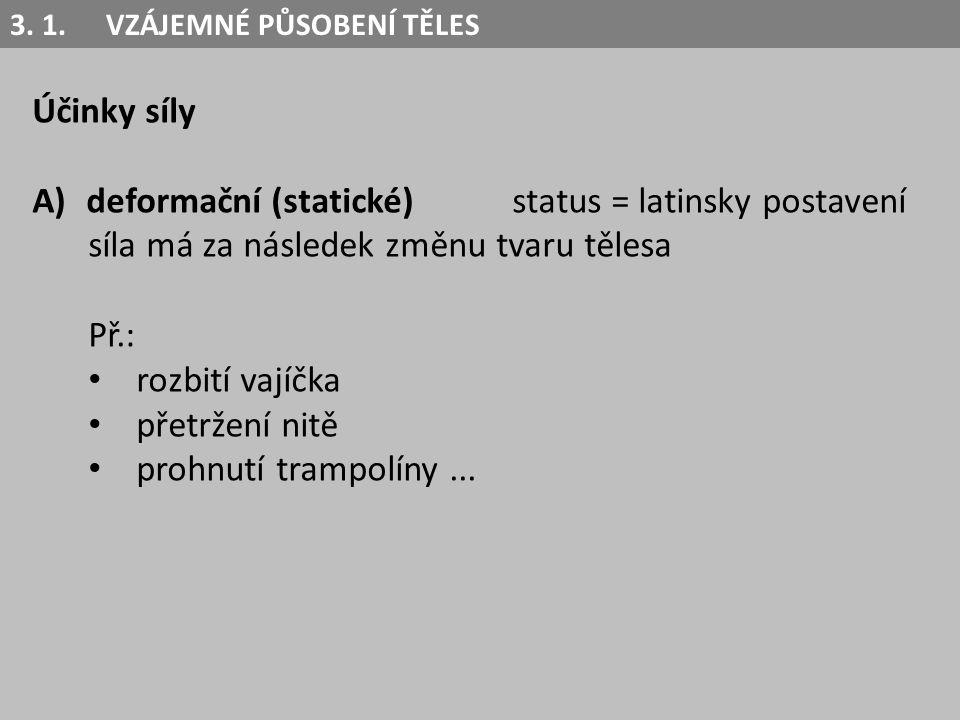 deformační (statické) status = latinsky postavení