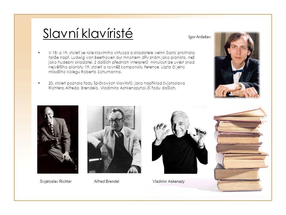 Slavní klavíristé Igor Ardašev